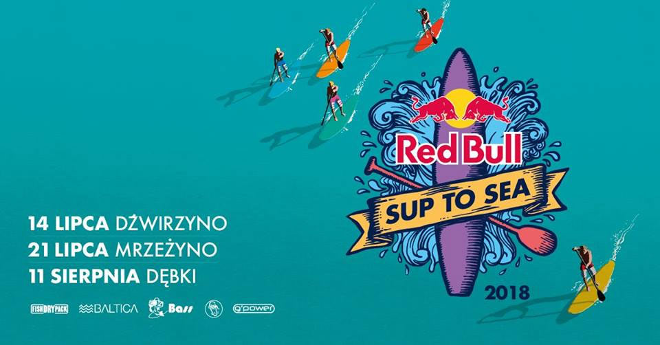 red bull sup to sea